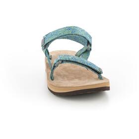 SOURCE Leather Urban Sandals Damen green blur